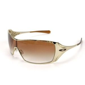 Oakley dart womans sunglasses brown and gold